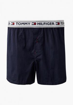 Трусы Tommy Hilfiger Boxers. Цвет: синий
