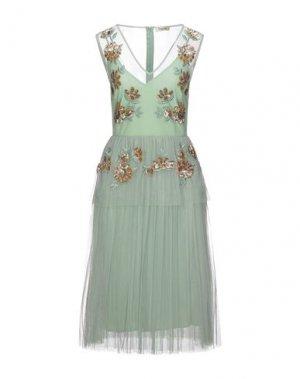 Платье до колена DIXIE. Цвет: светло-зеленый