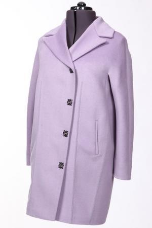 Пальто Анора. Цвет: фиолетовый