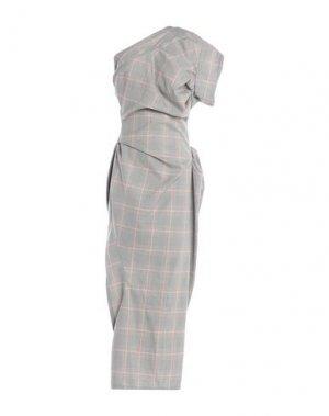 Длинное платье ANDREAS KRONTHALER x VIVIENNE WESTWOOD. Цвет: черный