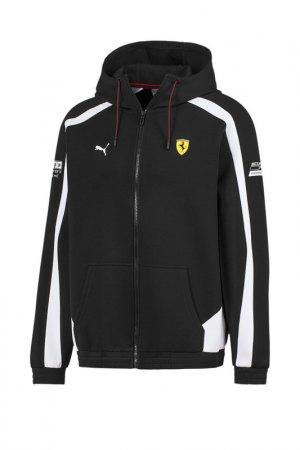 Толстовка Hooded Sweat Jacket Puma. Цвет: черный