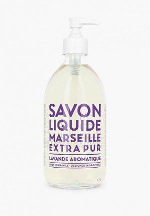 Жидкое мыло Compagnie de Provence для тела и рук, Ароматная Лаванда/Aromatic Lavender, 500 мл. Цвет: прозрачный