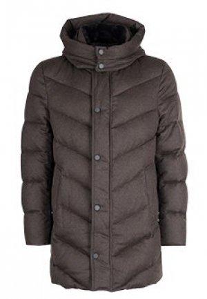 Куртка FONTANELLI. Цвет: коричневый