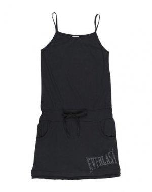 Платье EVERLAST. Цвет: черный
