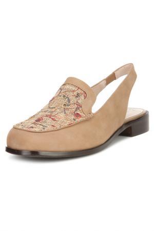 Туфли BALEX GRAND. Цвет: бежевый