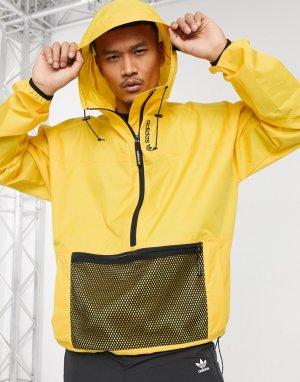 Золотистая ветровка -Золотистый adidas Originals