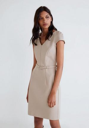 Платье Mango - COFI4-N. Цвет: бежевый