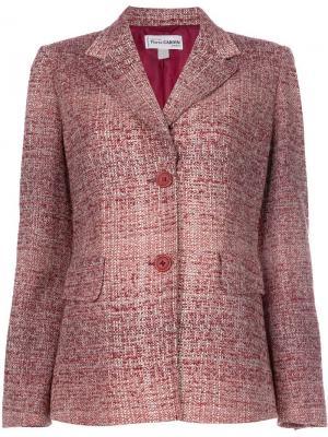 Пиджак букле Pierre Cardin Pre-Owned. Цвет: красный