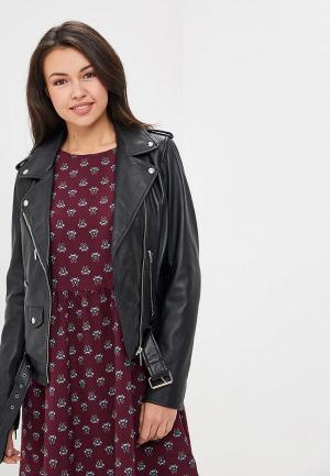 Куртка кожаная Arma Kylie. Цвет: черный