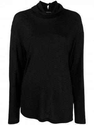 Деконструированный свитер Ann Demeulemeester. Цвет: черный