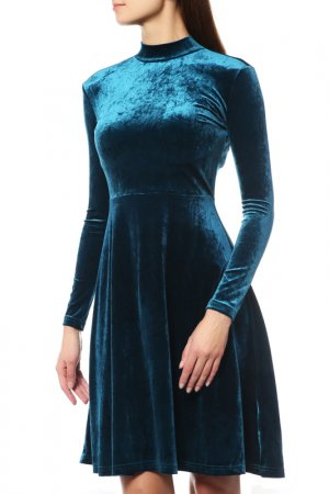 Платье Anastasya Barsukova. Цвет: изумрудный