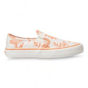 Кеды Island Floral Slip-On SF VANS. Цвет: белый