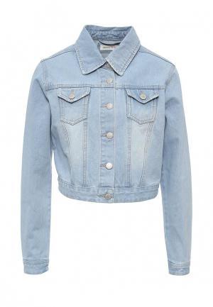 Куртка джинсовая Urban Bliss. Цвет: голубой