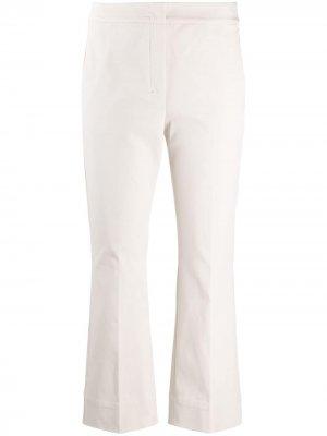 S Max Mara укороченные брюки с заниженной талией 'S. Цвет: нейтральные цвета
