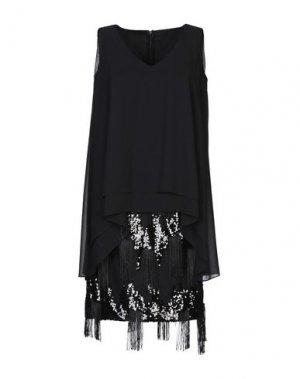 Короткое платье CARLO PIGNATELLI CERIMONIA. Цвет: черный