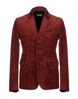 Пиджак MARNI. Цвет: кирпично-красный