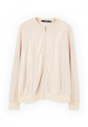 Куртка Mango - KENEDY. Цвет: золотой