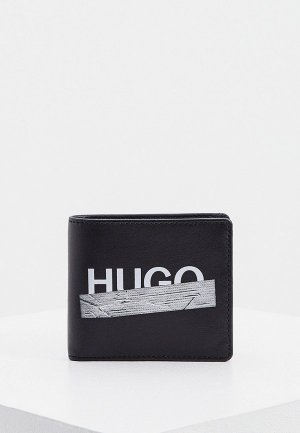 Кошелек Hugo Tape_4 cc coin. Цвет: черный