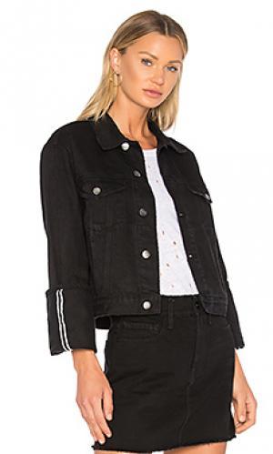 Куртка с закатанными манжетами le jacket FRAME. Цвет: none
