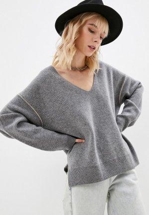 Пуловер Closed. Цвет: серый