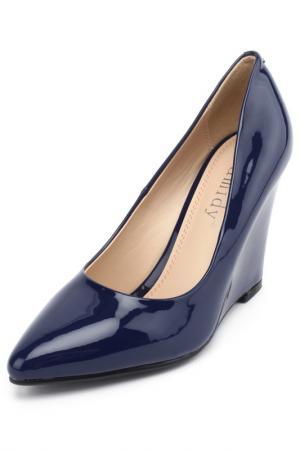 Туфли CAMIDY. Цвет: синий