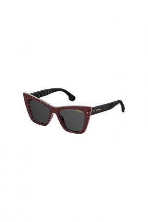 Солнцезащитные очки Carrera. Цвет: бордовый