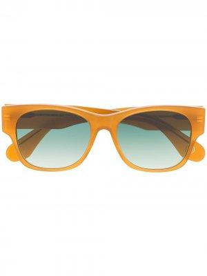 Солнцезащитные очки Trevi Monocle Eyewear. Цвет: нейтральные цвета