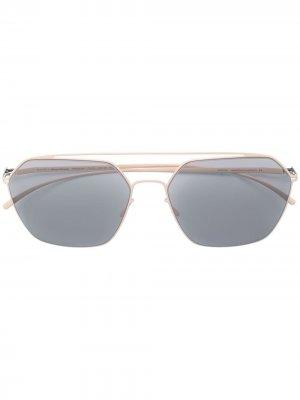 Солнцезащитные очки x Maison Margiela MMESSE016 Mykita. Цвет: нейтральные цвета