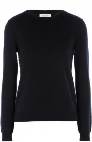 Кашемировый пуловер Valentino. Цвет: синий