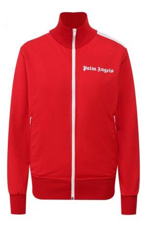 Толстовка Palm Angels. Цвет: красный