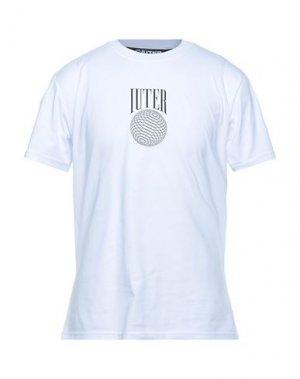 Футболка IUTER. Цвет: белый