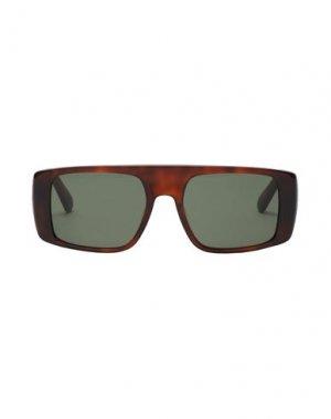 Солнечные очки GCDS. Цвет: коричневый