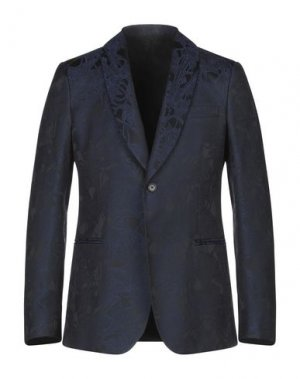 Пиджак ROBERTO CAVALLI. Цвет: темно-синий