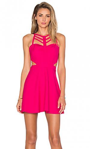 Платье eye candy NBD. Цвет: розовый