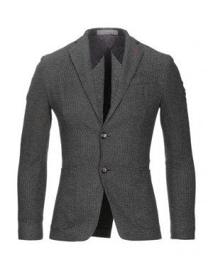 Пиджак JULIAN KEEN. Цвет: стальной серый