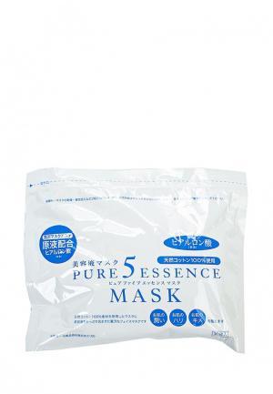 Набор масок для лица Japan Gals с гиалуроновой кислотой Pure5 Essential, 30 шт