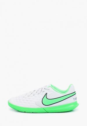 Бутсы зальные Nike JR LEGEND 8 CLUB IC. Цвет: белый