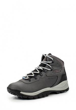Ботинки трекинговые Columbia NEWTON RIDGE™ PLUS. Цвет: серый