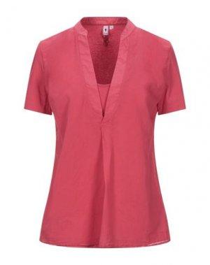 Блузка EUROPEAN CULTURE. Цвет: красный