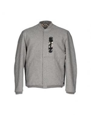 Куртка IUTER. Цвет: светло-серый