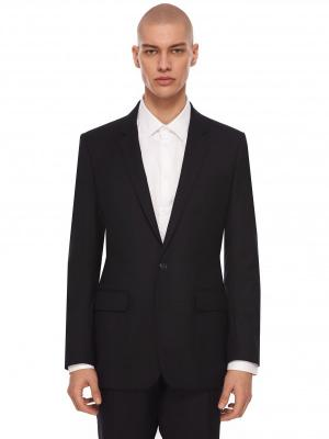 Костюмный пиджак KENZO. Цвет: темно-синий