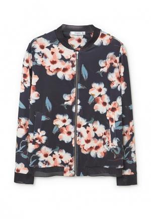 Куртка Mango - JACKO. Цвет: синий