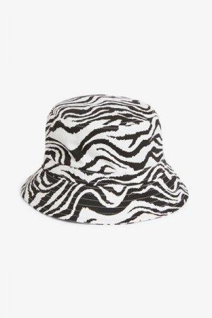 Панама Monki. Цвет: черный, белый, разноцветный
