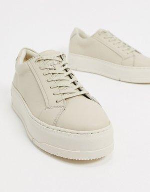 Светлые кроссовки -Белый Vagabond