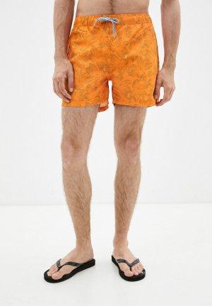 Шорты для плавания CMP. Цвет: оранжевый