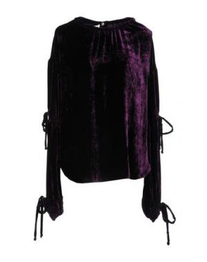 Блузка AQUILANO-RIMONDI. Цвет: темно-фиолетовый