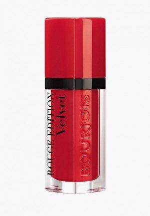 Тинт для губ Bourjois Rouge Edition Velvet, Тон 03. Цвет: красный