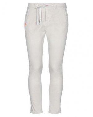 Повседневные брюки JCOLOR. Цвет: песочный