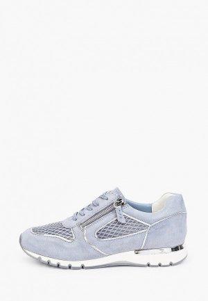 Кроссовки Caprice Увеличенная полнота, Comfort. Цвет: голубой