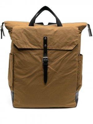 Твиловый рюкзак Fin Ally Capellino. Цвет: коричневый
